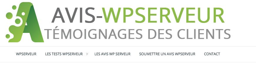 Les offres du WP Serveur