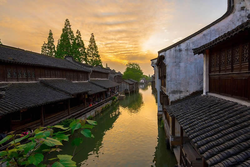 Les meilleures villes d'eau de Chine